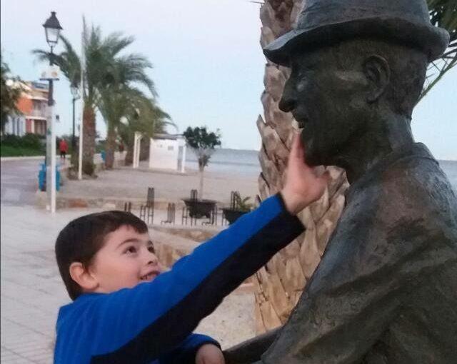 Sebastian en el Paseo Marítimo